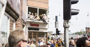 Carnaval em Europa, Dinamarca, Alborgue Foto de Stock Royalty Free