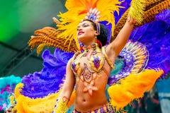 Carnaval em Moscovo, Rússia fotografia de stock royalty free