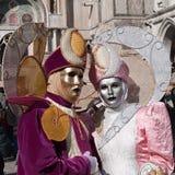 Carnaval em Veneza Foto de Stock Royalty Free