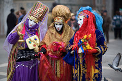 Carnaval em Veneza Fotos de Stock Royalty Free