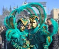 Carnaval em Veneza Imagens de Stock Royalty Free