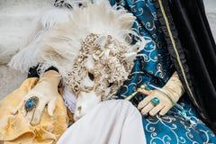 Carnaval em Veneza Italy Imagem de Stock Royalty Free