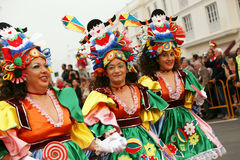 Carnaval en Arrecife Lanzarote 2009 Imagenes de archivo