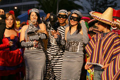 Carnaval en Arrecife Lanzarote 2009 Fotos de archivo