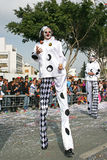 Carnaval en Chipre Fotografía de archivo libre de regalías