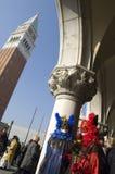 Carnaval en el cuadrado de San Marco. Foto de archivo