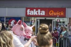 Carnaval en Europa, Dinamarca, Aalborg Imagen de archivo