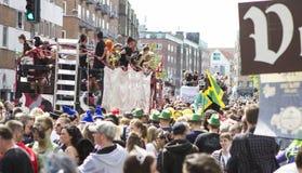 Carnaval en Europa, Dinamarca, Aalborg Fotografía de archivo