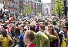 Carnaval en Europa, Dinamarca, Aalborg Foto de archivo