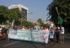 Carnaval en Jakarta Foto de archivo libre de regalías