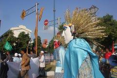 Carnaval en Jakarta Imagen de archivo