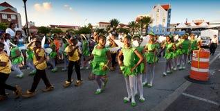 Carnaval en le Curaçao images libres de droits