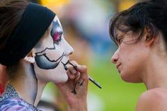 Carnaval en Montevideo Imagen de archivo libre de regalías
