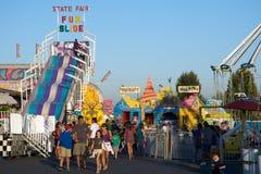 Carnaval en playa del sello Imagenes de archivo