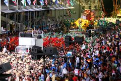 Carnaval en Río Fotografía de archivo