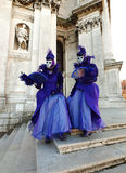 Carnaval en Venecia Imagen de archivo libre de regalías