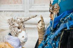 Carnaval en Venecia Italia Fotografía de archivo