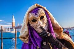 Carnaval en Venecia, Italia Fotografía de archivo libre de regalías