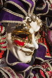 Carnaval en Venecia, Italia Foto de archivo libre de regalías