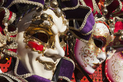 Carnaval en Venecia, Italia Imágenes de archivo libres de regalías