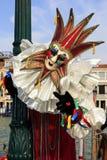 Carnaval en Venecia, Italia Imagen de archivo libre de regalías