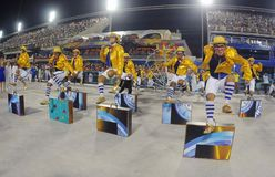 Carnaval - Escolas de Samba foto de stock