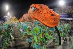 Carnaval - Escolas de Samba fotografia de stock