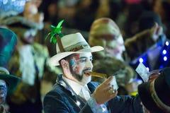 Carnaval espagnol dans la soirée Photographie stock