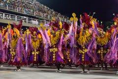 Carnaval 2019 - Estacio de Sa imagens de stock
