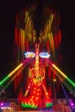 Carnaval Fahrt der langen Belichtung Lizenzfreie Stockbilder