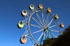 Carnaval Ferris Wheelon la côte de central de la Nouvelle-Galles du Sud photos stock