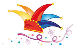 Carnaval, flammes illustration stock