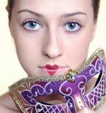 carnaval flicka royaltyfria bilder