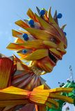 Carnaval francés de Niza foto de archivo libre de regalías