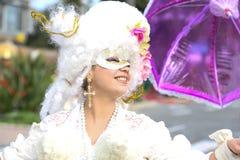Carnaval franc?s de agrad?vel foto de stock