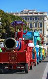 Carnaval franc?s de Niza fotos de archivo