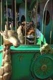Carnaval franc?s de Niza foto de archivo libre de regalías