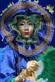 Carnaval in Frans Guyana, Zuid-Amerika Royalty-vrije Stock Foto's