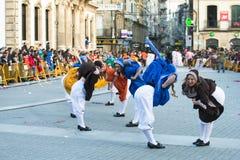 Carnaval in Galicië (Spanje) stock fotografie