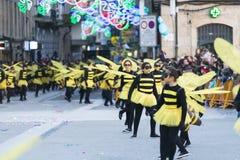 Carnaval in Galicië (Spanje) stock afbeeldingen