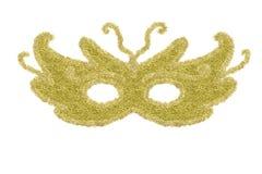 Carnaval-geïsoleerd oogmasker Royalty-vrije Stock Foto's