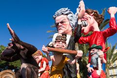 Carnaval gentil, France images libres de droits
