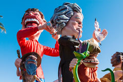 Carnaval gentil, France photographie stock