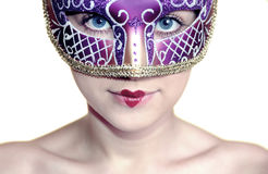 Carnaval girl Stock Images
