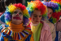 Carnaval in Griekenland Royalty-vrije Stock Fotografie