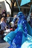 Carnaval - grupo del geometrico de Volo Fotografía de archivo