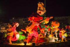 Carnaval i Patras Arkivfoto