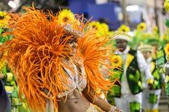 Carnaval 2016 - Imperatriz Leopoldinense Images libres de droits