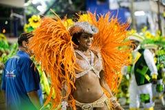 Carnaval 2016 - Imperatriz Leopoldinense Photo stock