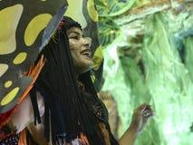 Carnaval 2017 - Imperatriz Leopoldinense Image stock